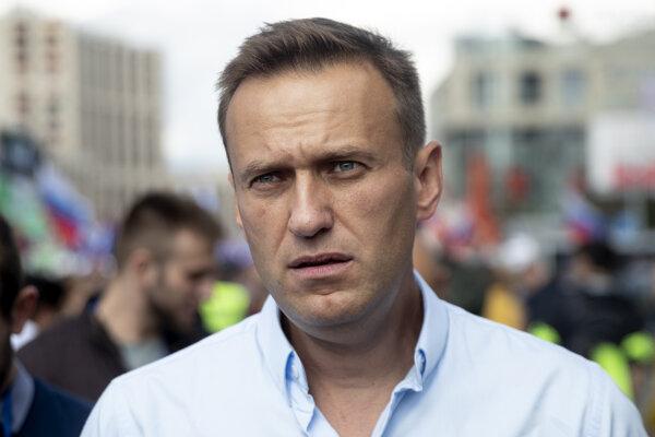 Ruský opozičný predstaviteľ Alexej Navaľnyj.