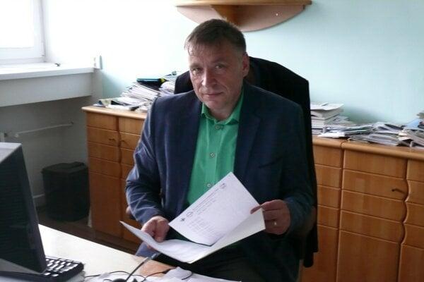 Riaditeľ Kysuckej nemocnice Martin Šenfeld.