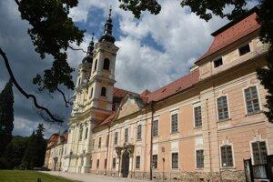 Premonštrátsky kláštor v Jasove.