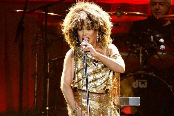 Tina Turnerová na koncerte