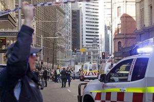 Miesto útoku v Sydney z 13. augusta 2019.