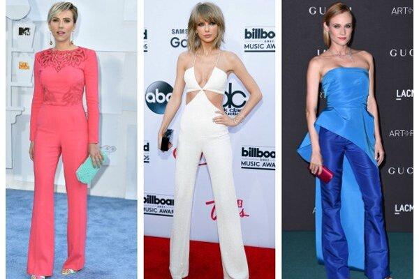 Zľava: Scarlett Johanssonová, Taylor Swiftová, Diane Krugerová