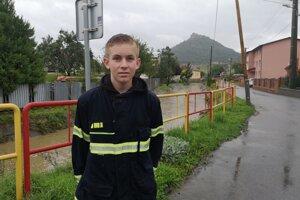 Dobrovoľný hasič Matúš.