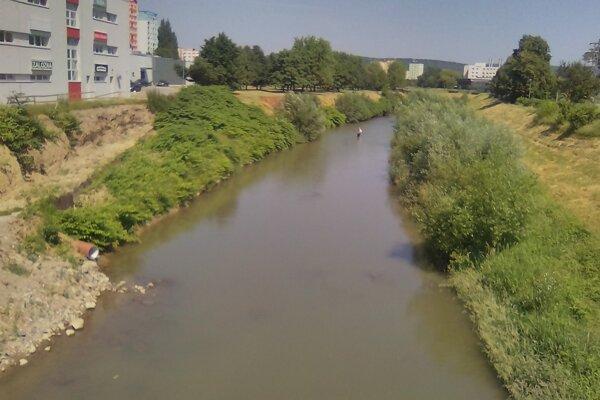 Rieka Torysa v Prešove.