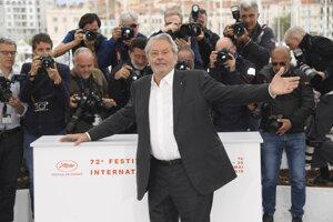 Alain Delon v Cannes.