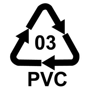 Recyklačná značka pre polyvinylchlorid