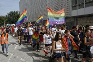 Pochod Pride Košice 2019.