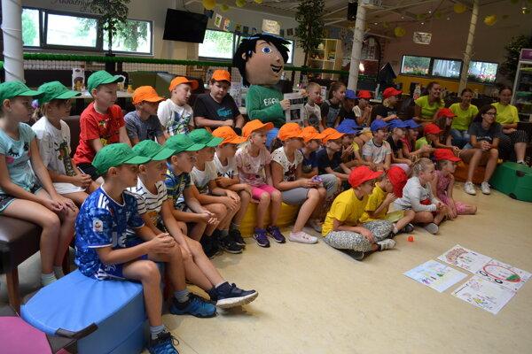 Deti v prázdninovom tábore sa dozvedeli viac o rovesníckom násilí.