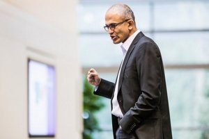 Šéf Microsoftu Satya Nadella