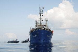 Loď nemeckej mimovládnej organizácie Mission Lifeline.