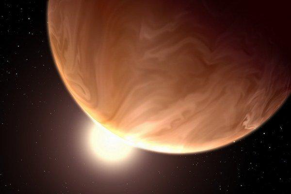 Umelecké vyobrazenie planéty GJ 1214b.