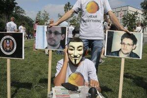 Edward Snowden sa zmenil, kedysi tajnosti obhajoval. ⋌ILUSTRAĆNÉ FOTO – TASR/AP