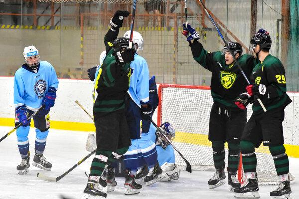 Levickí hokejisti vrámci prípravy privítali vicemajstra Slovenska zNitry.