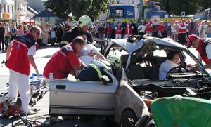 spolupráca záchranárskych tímov