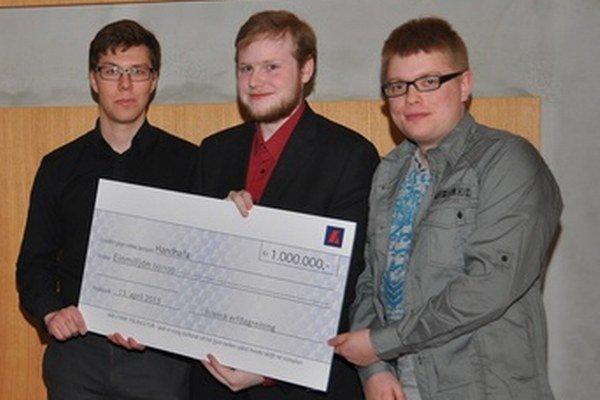 Vyvojári aplikácie získali na University of Iceland ocenenie.