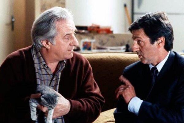 Michel Aumont spolu s danielom Auteuillom v komédii Kondoménia.
