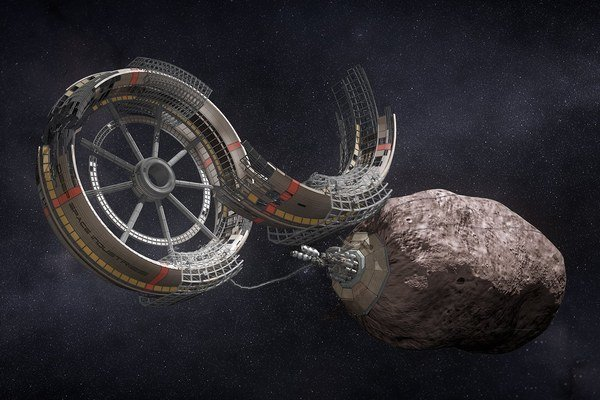 Ťažba na asteroidoch môže mať veľkú budúcnosť.