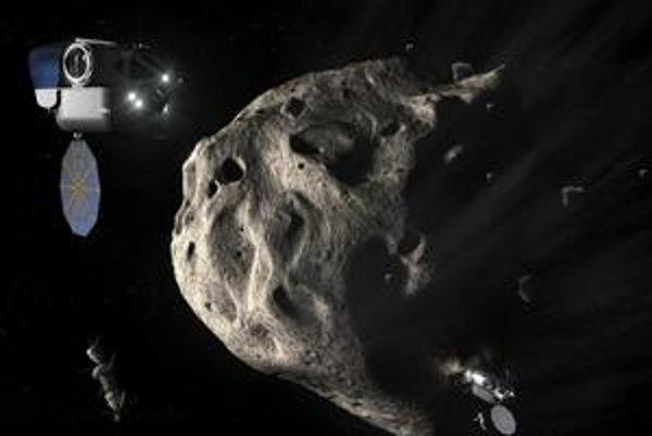 Asteroidy by mohli byť ďalším cieľom ľudského dobývania kozmu.