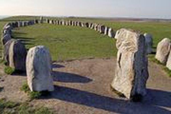 Aj Švédi majú svoj kruh z kameňov.