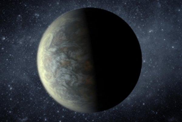 Planéty Kepler-20f (na snímke) a Kepler-20e sú podobne veľké ako naša Zem.