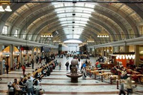 Hlavnou stanicou v Štokholme prejde denne štvrť milióna ľudí.