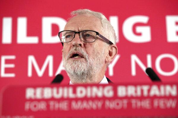 Líder labouristov Jeremy Corbyn.