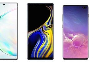 Galaxy Note10+, Galaxy Note9, Galaxy S10+, Galaxy S10