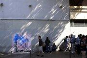 Banksy svoju skutočnú identitu utajuje.