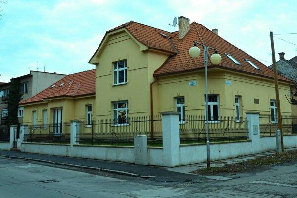 Pamätný dom Júliusa Szabóa.