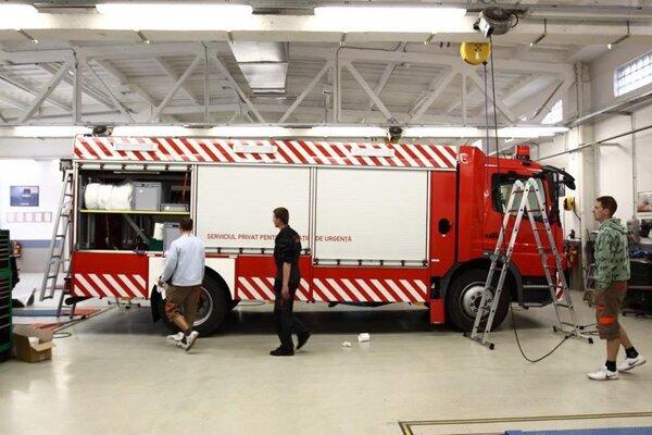 Firma Stražan sa špecializuje na úpravu špeciálnych vozidiel.