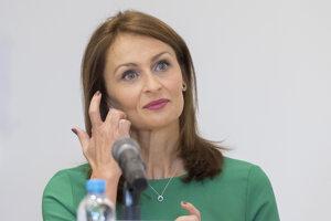 Ministerka zdravotníctva Kalavská.