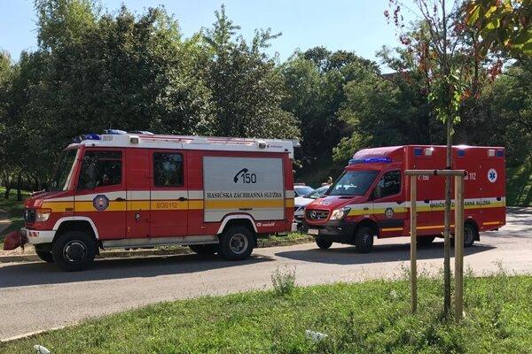 Foto z miesta nehody. zdroj: PM