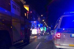Nehoda na Kuzmányho ulici.