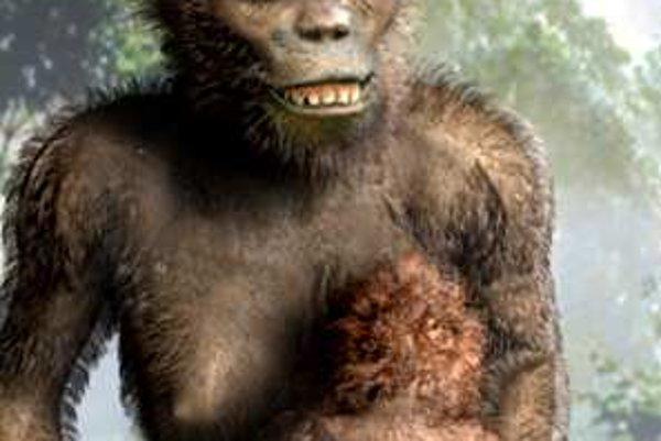 Deti australopitekov mali už pomerne vysoké nároky na starostlivosť.