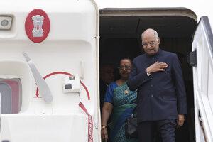 Indický prezident Rám Náth Kóvind.