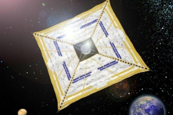 Medziplanetárna sonda Ikaros bude poháňaná Slnkom.