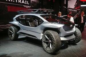 Autosalón Frankfurt 2019 - Audi AI:Trail Concept