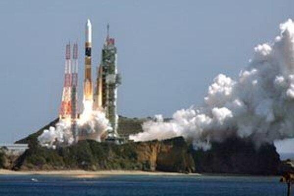 Štart rakety H-2A  z kozmodromu na ostrovčeku Tanegašima