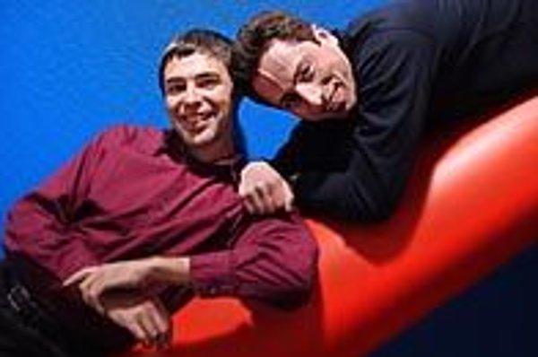 Larry Page (vľavo) a Sergej Brin.