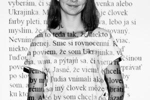 Oleksandra Ovčarenko.