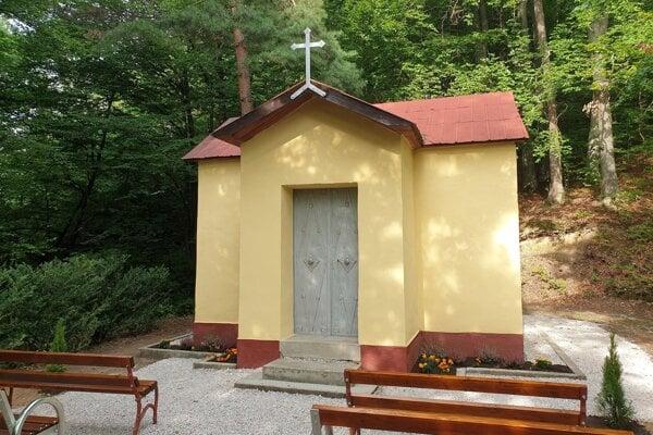 Kaplnka v osade Železník.