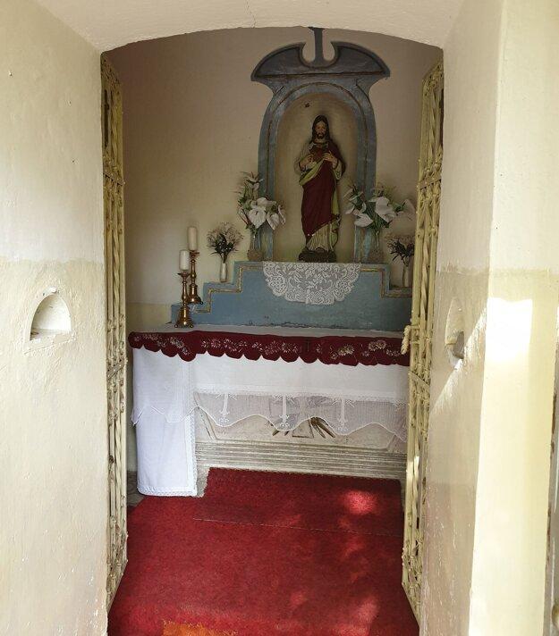 Interiér kaplnky