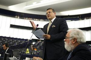 Slovenský eurokomisár Maroš Šefčovič.