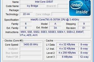 Procesor je vyrobený 22 nm technológiou a maximálne TPD je 77 wattov. Má štyri jadrá, 6 MB chache pamäť, maximálna pracovná frekvencia je 3,8 GHz.