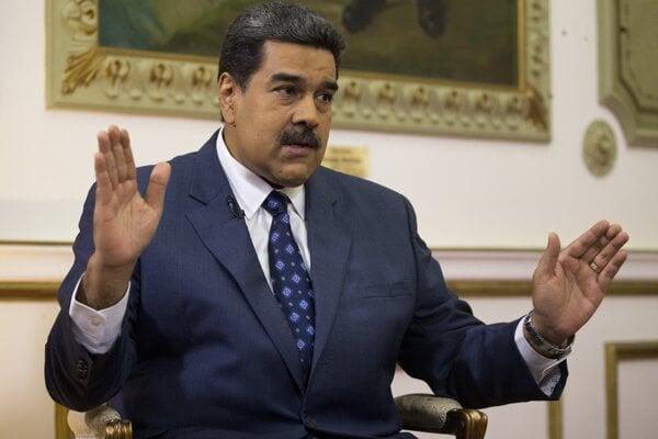 Venezuelský prezident Nocolás Maduro.