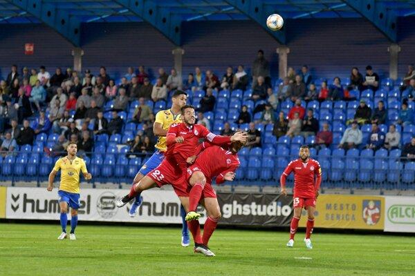 FK Senica - FC DAC 1904 Dunajská Streda v 8. kole Fortuna ligy 2019/2020.