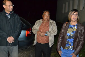 Telo neznámeho muža prišli do Stakčína identifikovať príbuzní a rodinní priatelia.
