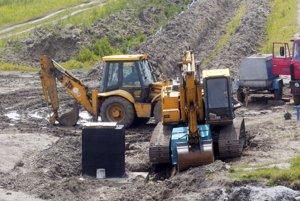 V Cigli, Sebedraží a Koši sa stavebné práce tak skoro nezačnú.