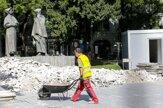 V Bratislave začali rekonštruovať Pamätník SNP