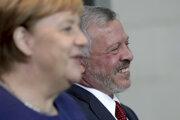 Jordánsky kráľ Abdalláh II. sa stretol s nemeckou kancelárkou Angelou Merkelovou v Berlíne.